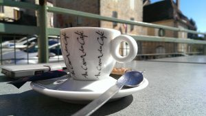 Coffee in the sun