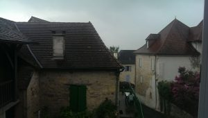 A Dull and Wet Day in Badefols D'Ans