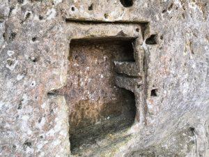 La Roque Saint Christophe wall safe
