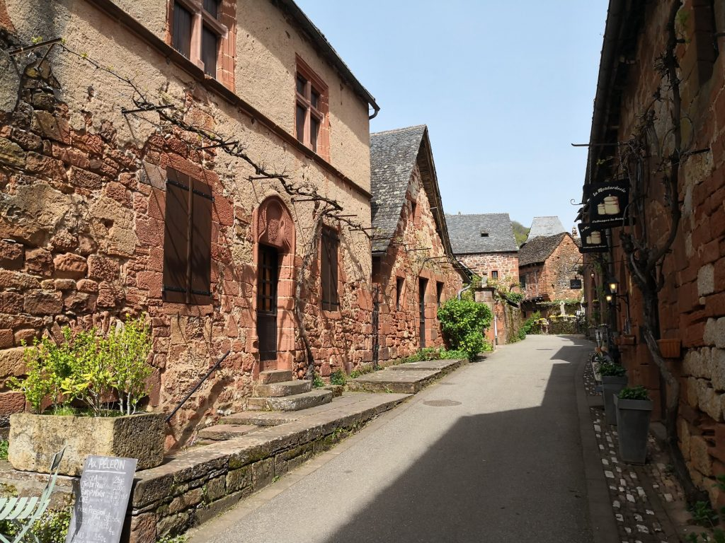 Street in Collonges-la-Rouge