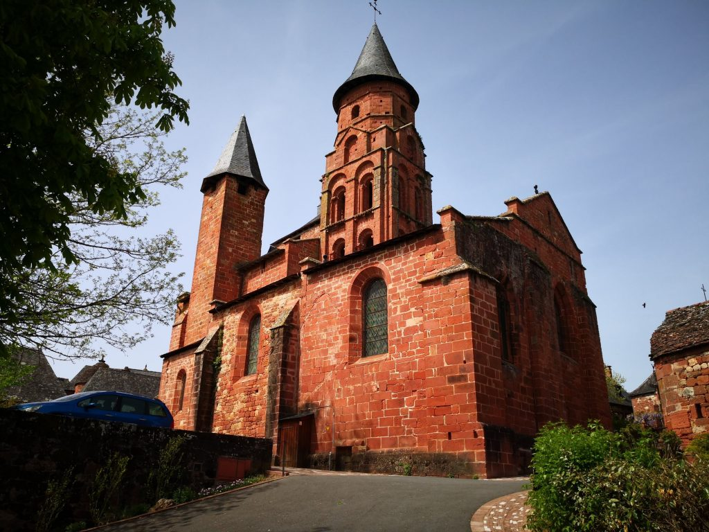Collonges-la-Rouge Church
