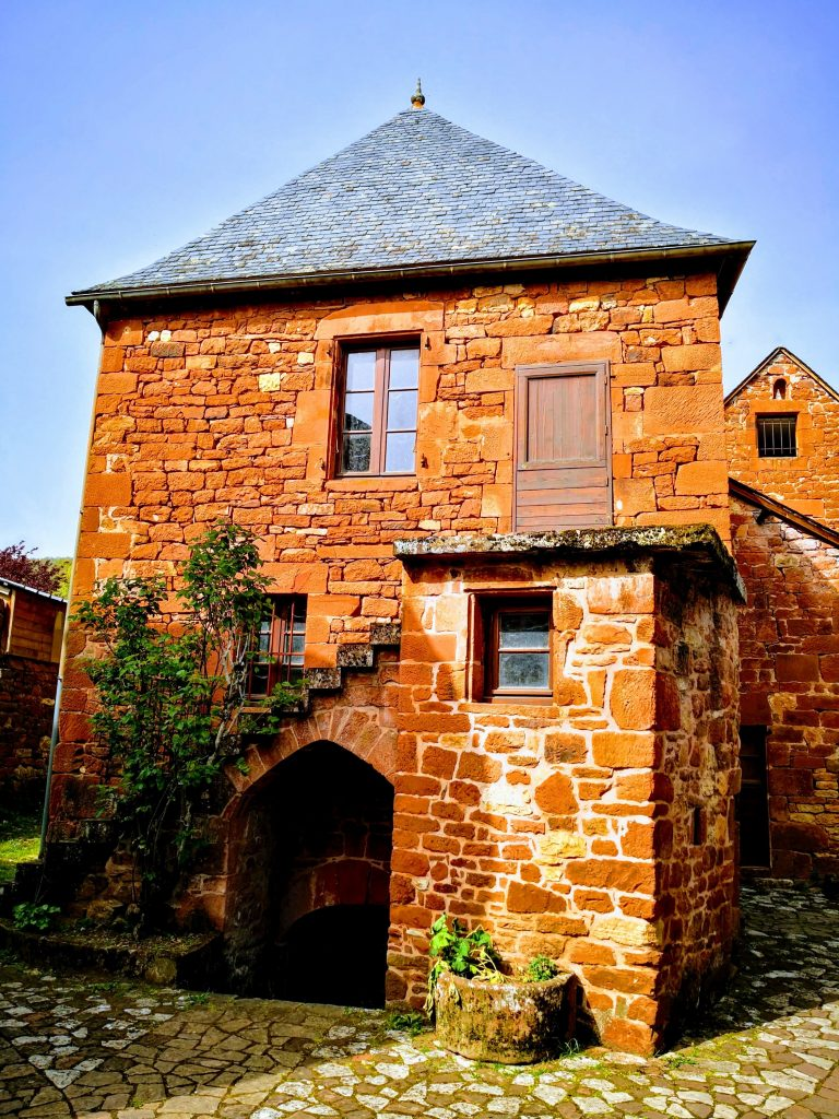 House in Collonges-la-Rouge